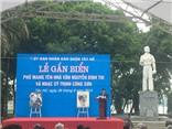 VHTC 26/08: Gắn tên đường mang tên Nhà văn Nguyễn Đình Thi và Nhạc sĩ Trịnh Công Sơn tại Hà Nội