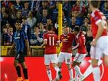 Brugge 0-4 Man United: Rooney lập hat-trick, 'Quỷ đỏ' trở lại vòng bảng Champions League