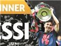 Messi lại xuất sắc nhất châu Âu