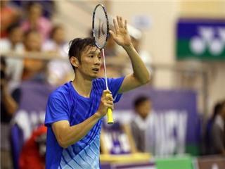 Tiến Minh dừng bước ở giải cầu lông Việt Nam mở rộng 2015