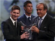 CHÙM ẢNH: Diễn biến thái độ của Ronaldo khi Messi nhận giải Cầu thủ xuất sắc nhất châu Âu
