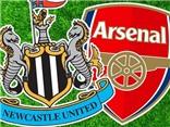 Link truyền hình trực tiếp và sopcast trận Newcastle - Arsenal (18h45,29/8)