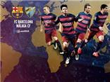 Link truyền hình trực tiếp và sopcast trận Barca - Malaga (1h30,30/8)