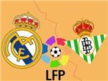 Link truyền hình trực tiếp và sopcast trận Real Madrid - Real Betis (3h30,30/8)