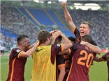 Roma 2-1 Juventus: Dzeko nổ súng, Evra nhận thẻ đỏ, Juve lại thua trận