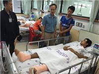 Thủ tướng và Bộ trưởng Ngoại giao Thái Lan điện thăm hỏi về việc 1 công dân Việt Nam bị thương trong vụ đánh bom