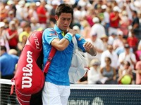 Kei Nishikori bị loại sốc ngay ở vòng 1 US Open