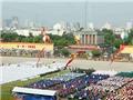 HÌNH ẢNH Toàn cảnh Quảng trường Ba Đình nhìn từ trên cao trong Lễ diễu binh, diễu hành