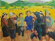 Ngày Quốc khánh, xem tranh Việt tại Bangkok