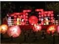 Mãn nhãn với con đường đèn lồng dài nhất Việt Nam