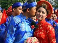 Rộn ràng Lễ cưới tập thể cho 100 đôi thanh niên công nhân ngày Quốc khánh