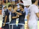 Argentina 7-0 Bolivia: Messi, Aguero và Lavezzi cùng lập cú đúp, Argentina đại thắng