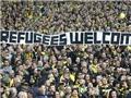 Bundesliga tham gia cứu trợ người tị nạn