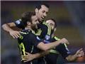Macedonia 0-1 TBN: TBN thắng nhờ một... quả tạt vu vơ của Juan Mata