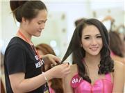 Hoa hậu Hoàn vũ Việt Nam 2015: Cận cảnh hậu trường biến hóa người đẹp trở nên lộng lẫy