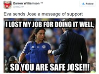 Fan Chelsea lấy Eva Carneiro để chế nhạo Mourinho