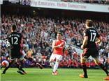 Arsenal 2-0 Man United: Walcott kiến tạo, Oezil sút tung lưới Man United