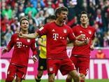 Bayern Munich 5-1 Dortmund: Mueller và Lewandowski nhấn chìm Dortmund