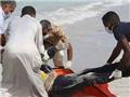 Gần 100 thi thể người di cư được phát hiện trên bờ biển Libya