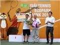 Nhiều bất ngờ kịch tính ở giải Tennis Ecopark Vietcombank 2015