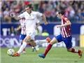 Atletico - Real Madrid 1-1: Thừa bạo lực thiếu chuyên môn