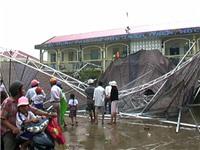 Tình trạng sức khỏe 9 học sinh bị thương vụ sập mái che trường tiểu học