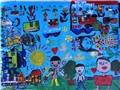 Trẻ em vùng cao triển lãm tranh tại Hà Nội