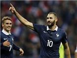 Pháp 4-0 Armenia: Benzema lập cú đúp rồi... chấn thương