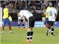 Argentina thua Ecuador 0-2: Không Messi, Tango lại loạn nhịp