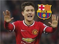 Barca muốn chiêu mộ Ander Herrera để thay thế Iniesta