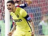 Bologna 0-1 Inter Milan: Melo bị đuổi, Icardi ghi bàn, Inter lên đầu bảng