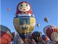 Ngắm cảnh tượng đầy màu sắc tại lễ hội kinh khí cầu quốc tế