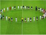 CHÙM ẢNH: Xúc động với sự sẻ chia của người Anh với nước Pháp trên sân Wembley