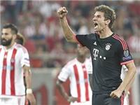 02h45, ngày 25/11, Bayern Munich - Olympiakos (lượt đi 3-0): Vị thế kẻ ban ơn