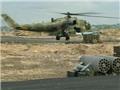 VIDEO: Rùng mình, các tay súng ung dung bắn nổ tung trực thăng Nga