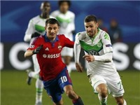 VIDEO: CSKA Moskva 0-2 Wolfsburg