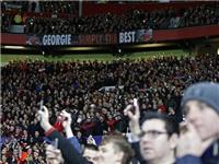 CĐV Man United thắp sáng Old Trafford tưởng nhớ George Best