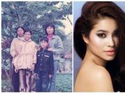 Lộ ảnh thời 'thò lò mũi' của Phạm Hương và các Hoa hậu Hoàn vũ năm châu (phần 2)