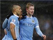 Man City 3-1 Southampton: De Bruyne tỏa sáng rực rỡ, Man City tạm chiếm ngôi đầu