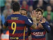 VIDEO: Xem pha phối hợp huyền ảo của Neymar - Suarez - Messi trước Real Sociedad