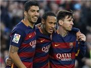 Barca 4-0 Sociedad: Messi, Neymar và Suarez cùng lập công, Barca lại thắng đậm