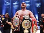Đánh bại Wladimir Klitschko, Tyson Fury lên đỉnh thế giới