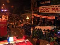Cháy cửa hàng lớn nhất huyện, thiệt hại chục tỷ đồng