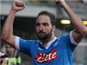 Napoli 2-1 Inter Milan: Higuain lập cú đúp, Napoli lên đầu bảng Serie A