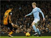 Man City 4-1 Hull City: Silva trở lại, De Bruyne lập cú đúp, Man City vào bán kết