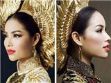 Chiêm ngưỡng 'quốc phục' của Phạm Hương tại Hoa hậu Hoàn vũ 2015