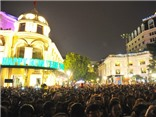 Thủ đô Hà Nội sôi động đón chào năm mới 2016