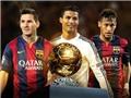 CHÙM ẢNH: Nhìn lại cuộc đua Bóng vàng của Ronaldo-Messi-Neymar, ai xứng đáng?