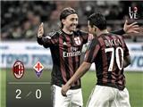AC Milan 2-0 Fiorentina: Bacca và Kevin-Prince Boateng giúp Milan giành 3 điểm