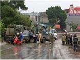 Tai nạn liên hoàn 3 ô tô ở Tuyên Quang, 2 người bị thương nặng